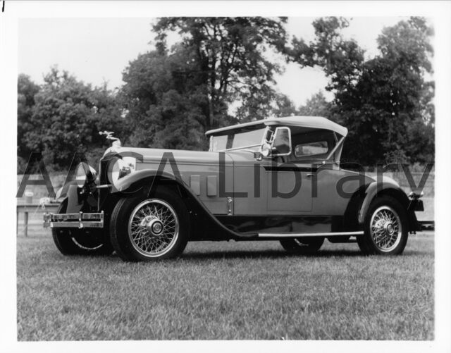 Ref. #61683 1930 Packard Model 745 Waterhouse Victoria Factory Photo Picture