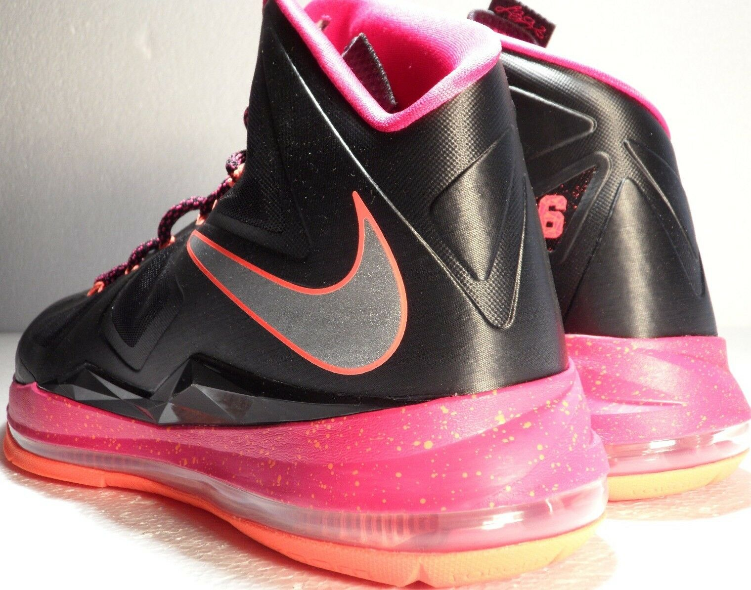 NIKE LEBRON X FLORIDIAN AWAY SZ: 15.0 ONLY ONE IN EBAY FIRREBERRY UNIQUE DS NEW