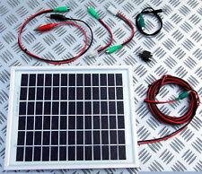 10w Pannello Solare Bait Boat Caricabatteria Kit 10 WATT Pesca della Carpa Canna 12v