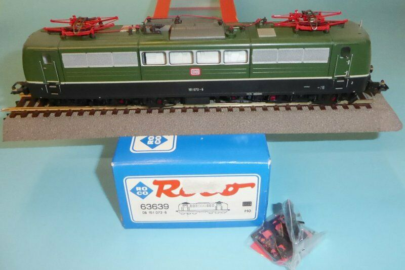 Roco 63639 Electric Locomotive Br 151 072-6 DB Ep. 4 Very Good Boxed with Dss ,
