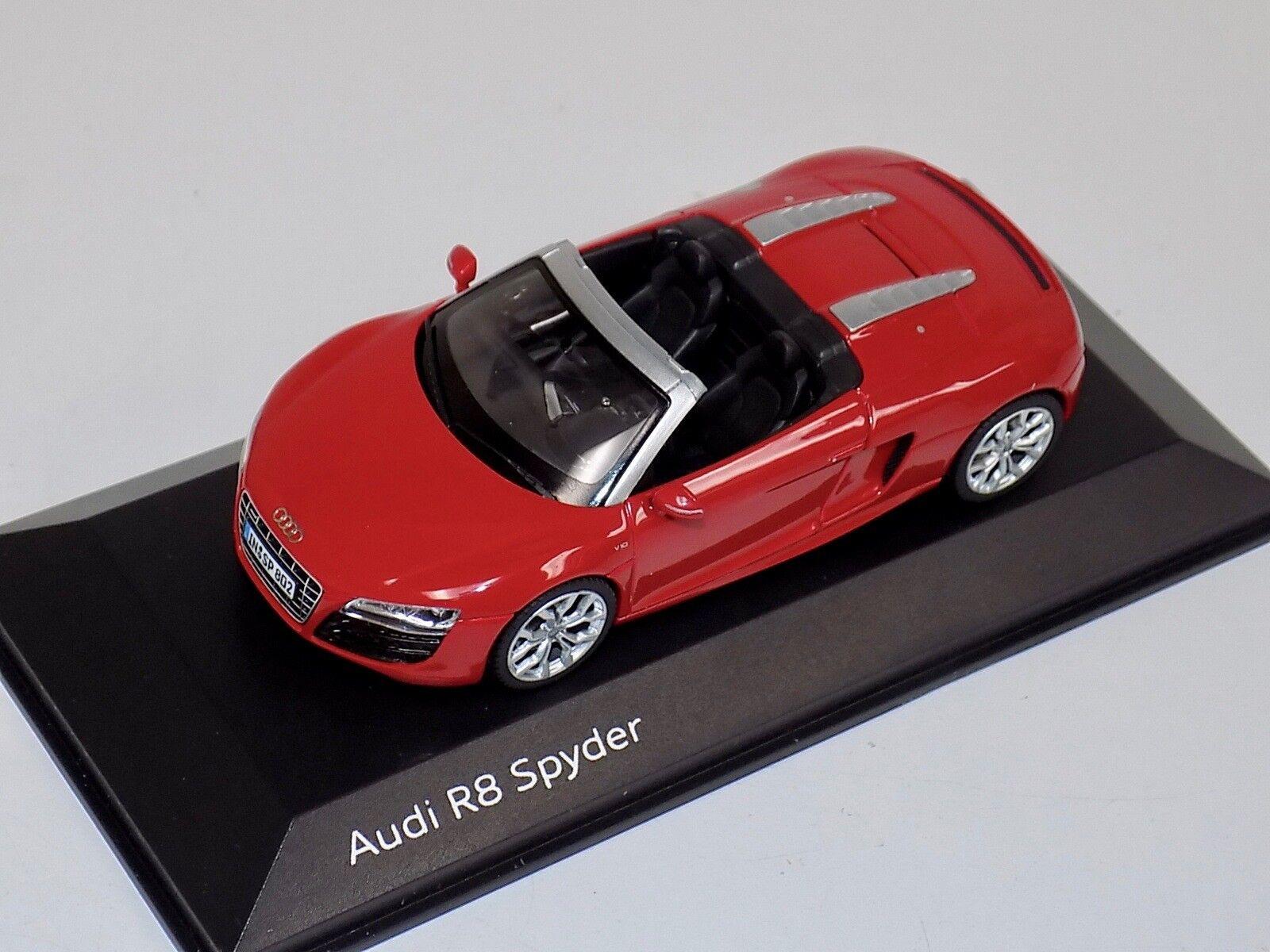 n ° 1 online 1 43 43 43 Minichamps Audi A8 Spyder in Brillant rosso Dealer edizione  compra meglio