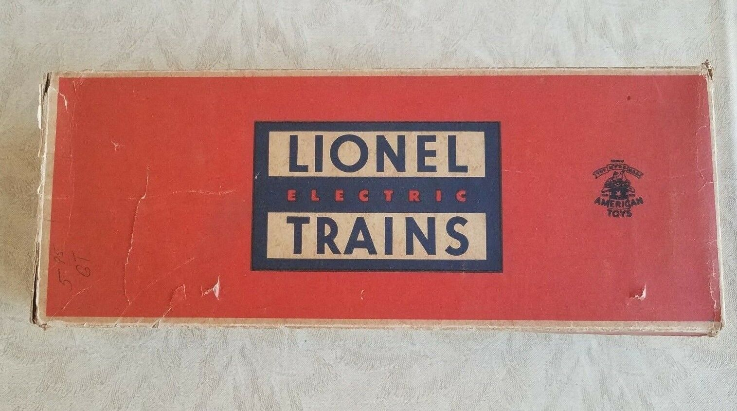 LIONEL 3424 WABASH OPERATING BRAKEMAN CAR W/ 3424-89 B0X WITH COUPLER TABS