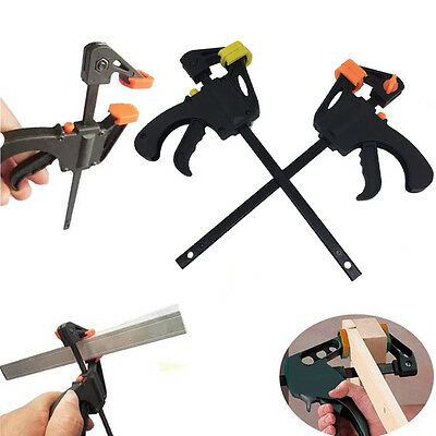 Quick Grip 4 inch F woodworking Clamp Clip Heavy Duty Wood Carpenter Tool Clamp