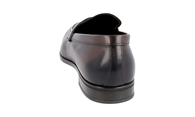 Auth Luxury Prada Business Scarpe STILE STILE STILE MOCASSINO MarroneeeE 2DC182 NUOVO 11 45 45,5 f58e9d