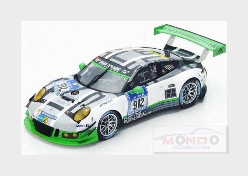 Porsche 911 991 Gt3 R Manthey Racing  912 Nurburgring 2016 SPARK 1 18 18SG015