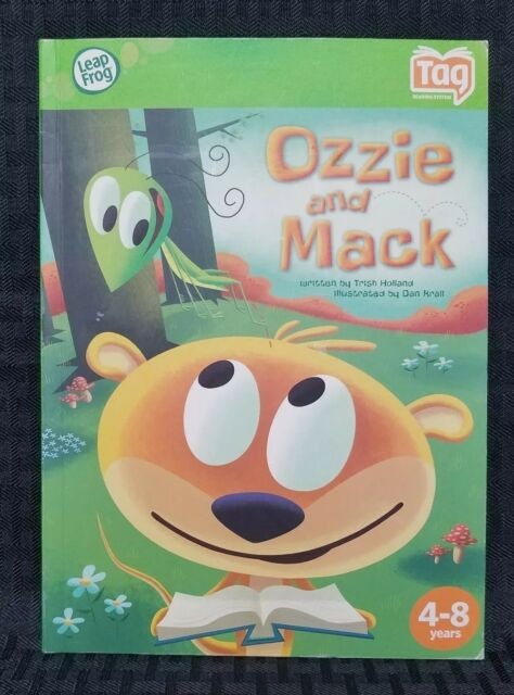 LeapFrog TAG Reading System Book OZZIE and MACK | eBay