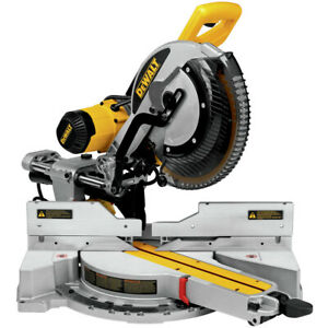 Dewalt 12 in. Double-Bevel Sliding Compound Miter Saw DWS779 New