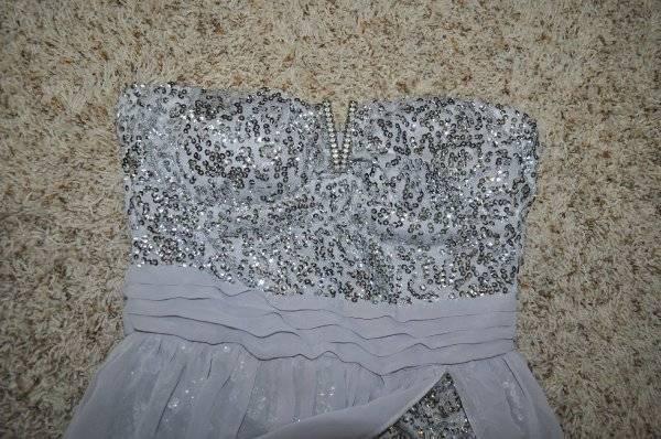 Nwt Jrs Lily Rosa Grau Pailletten Silber Trägerlos Lang Lang Lang Festliches Kleid Umhang | Auktion  | Niedriger Preis  | Wunderbar  afcf88