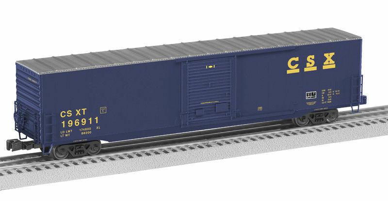 NIB LIONEL 27850 CSX 60' BOXCAR