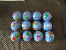 LOGO GOLF BALL-(15) GLOBE/CONTINENTS..COOL!!.....NEW!!!  AWESOME.