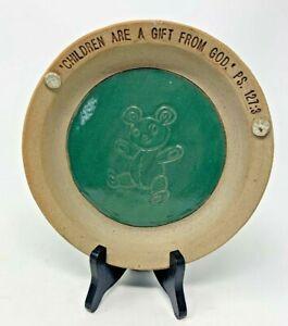 Stoneware pottery platedish