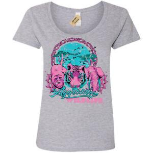Agressive-de-la-faune-T-Shirt-Femme-Ladies-Scoop