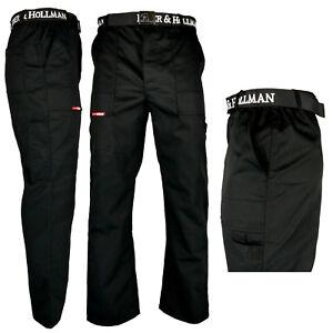 Arbeitshose Bundhose Schwarz  Schutzkleidung Arbeitskleidung Hose Gr. 48 - 62