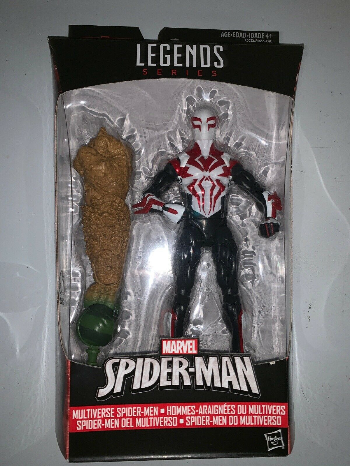 "Marvel Legends Spider Man 2099 Series Multiverse Spider-Sie 6"" BAF Sandman"