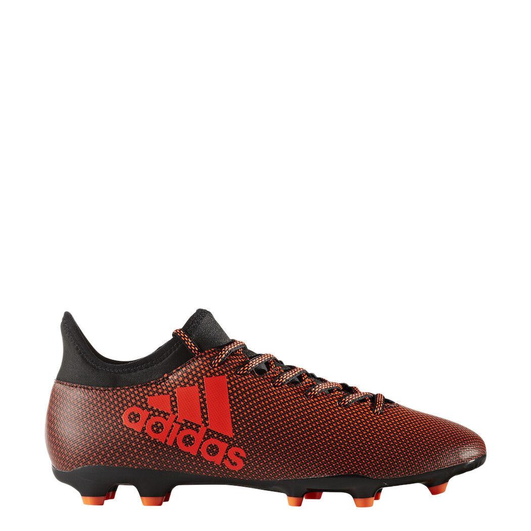 Adidas X 17.3 FG Fußballschuhe Pyro Storm Pack schwarz rot