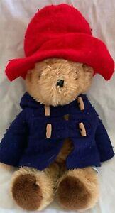 Vintage Edon Toys 1981 Plush Paddington Bear 15 Inch Red Hat with