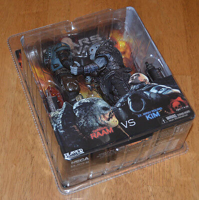 New NECA General RAAM Minh Young Kim 2 PACK Gears of War FAST SHIPPING!! GOW