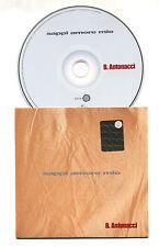 Cd PROMO BIAGIO ANTONACCI Sappi amore mio - cds cd singolo single 2005