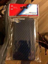 Apple IPhone 4/4S Glossy Blue Hardshell Plastic Case Cover.