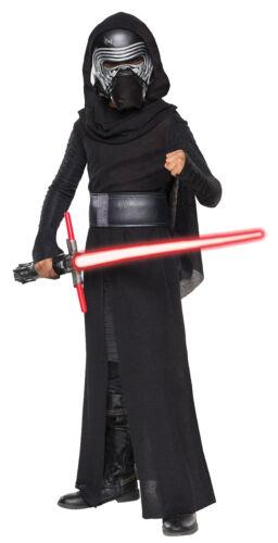 Kylo Ren Child Costume Boys Halloween Party Star Wars Movie The Force Awakens