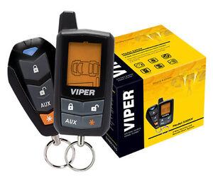 viper 5305v 2 way lcd vehicle car alarm keyless entry remote start system dei ebay. Black Bedroom Furniture Sets. Home Design Ideas
