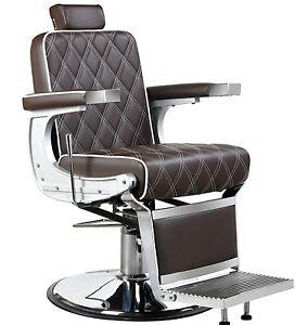 Image Is Loading Ambassador Heavy Duty Barber Salon Chair Premium Designer