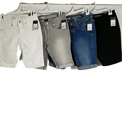 """Multi Size//Color Mossimo Women/'s 9/"""" Mid Rise Bermuda Short"""