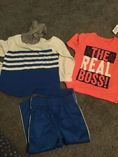 NWT The Children's Place Toddler Boys Lot Of 2 Shirts And Pants Size 3T