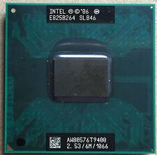 Intel Core 2 Duo T9400 2,53 GHz 6M 1066MHz 2-Core Prozessor Sockel P Mobile CPU