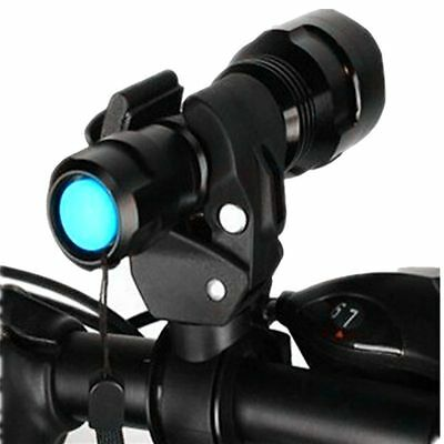 New 360° MTB Bicycle Bike Mount Holder Clip Clamp for Led Flashlight Torch