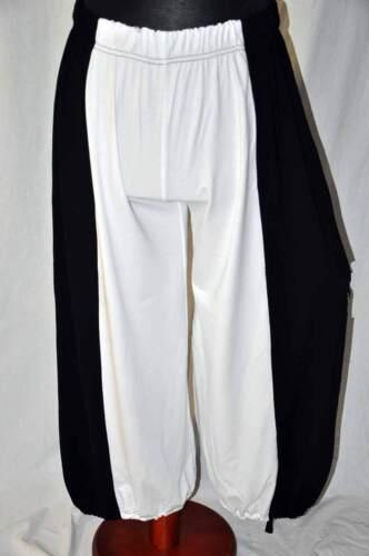 XXL XXXL Myo superposé Marlene-Ballonhose Cordon /& Trou Black /& White °°° XL
