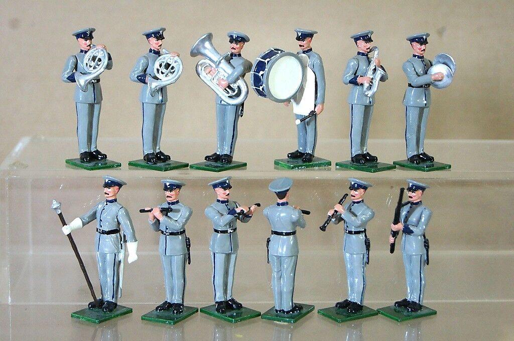 Britains Repintado Modificado Ojos Derecha Plástico Británico Pequeño Militar