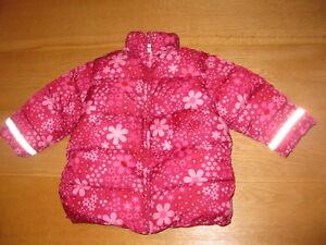 Mädchen CoolAnorak Jacke Rot Pink Winterjacke Gr92 Sehr Warm amp;m Zu H Von Details OPXZuki