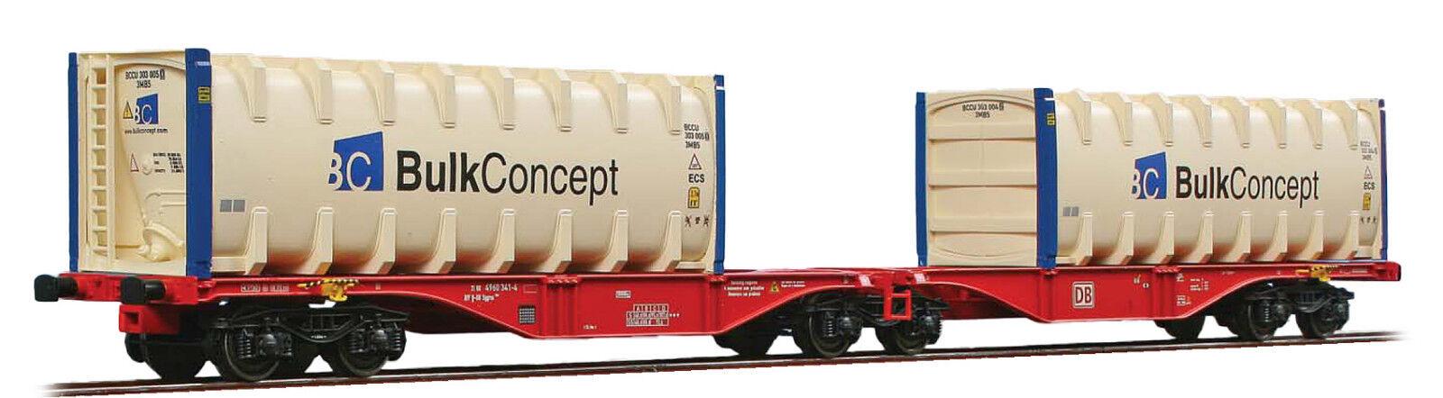 ACME 40355 Vagone doppio Container Contenitore Serbatoio