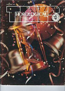 MF-089 - Horological Times Magazine January 1977, Westminster Chime, Quartz Osc.