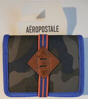 Aeropostale Bi-fold Wallet Camo/turbo Green -