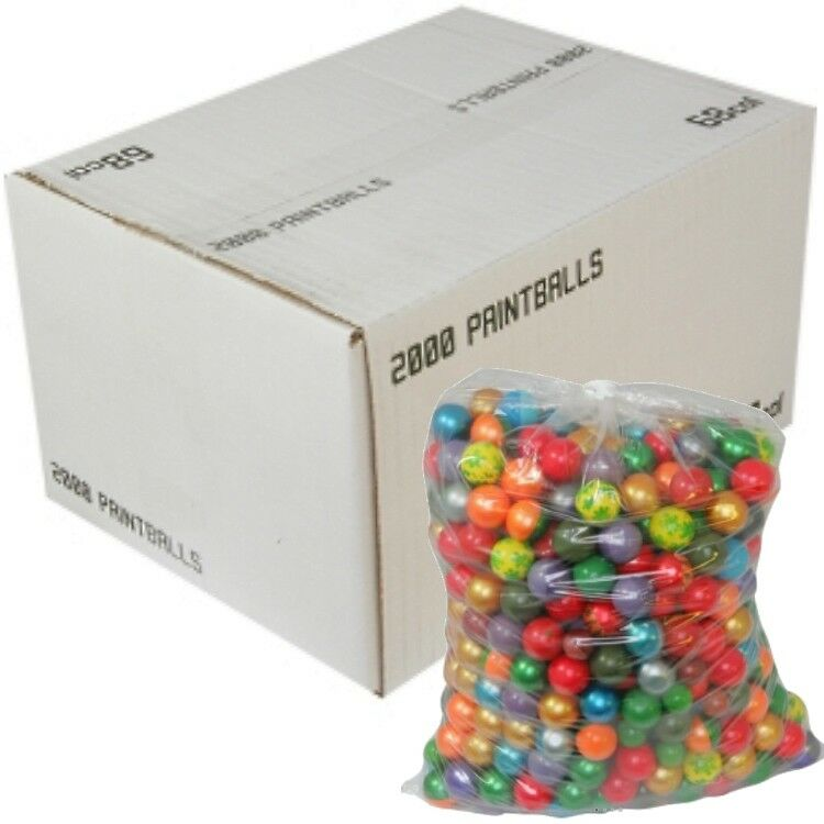 Dxs Draxxus Rainbow Paintballs (2000er Box) Paintball Sports