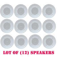 Lot Of (12) Pyle Pdics54 5'' Full Range In Ceiling Speaker System W/transformer on sale