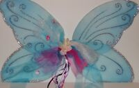 Dress-up Costume Butterfly Fairy Wings Assorted Colors Approximate Size 14x31 In