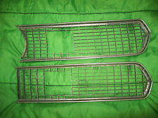 VINTAGE 1967 BARRACUDA GRILL INSERTS LEFT & RIGHT