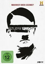 ROBERT (BOB)/KENNEDY,TIM BAER -HITLERS FLUCHT-WAHRHEIT ODER LEGENDE?  2 DVD NEU