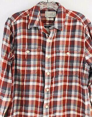 Lucky Brand Mens Mateo Twill Workwear Button Front Shirt