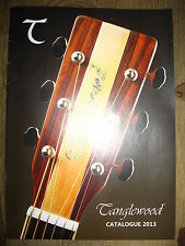 Tanglewood Catalogue 2013 guitar catalog