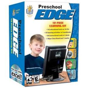 Preschool-Edge-10-CDs-3-Workbooks-Instructional-Cards-New-in-Box