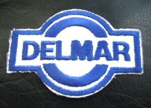 DELMAR-EMBROIDERED-SEW-ON-PATCH-OIL-GAS-ADVERTISING-UNIFORM-4-034-x-2-1-2-034