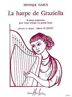 Harpe de Graziella Monique Gabus Harp Book Only