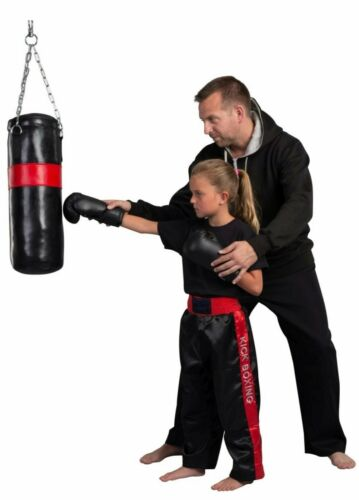 Kinder Boxsack Set mit Boxhandschuhe