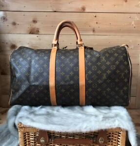 LV KEEPALL 55 in MONOGRAM CANVAS