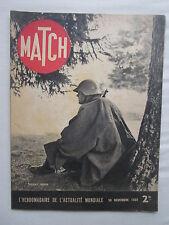 PARIS MATCH 1939 N°74 WWII SUISSE MINES ILE MOLENE BRETAGNE RAF LUFTWAFFE