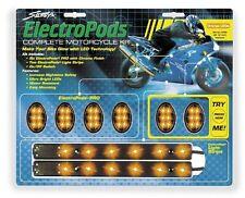 Street FX Electropods Lightpod/Strip Kit Orange/Black 1042488 goldwing venture